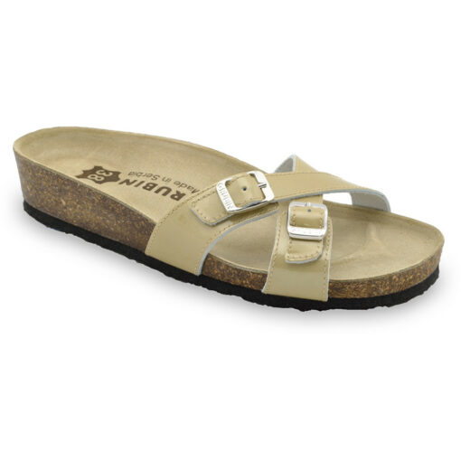 MODENA Women's leather slippers (36-42)