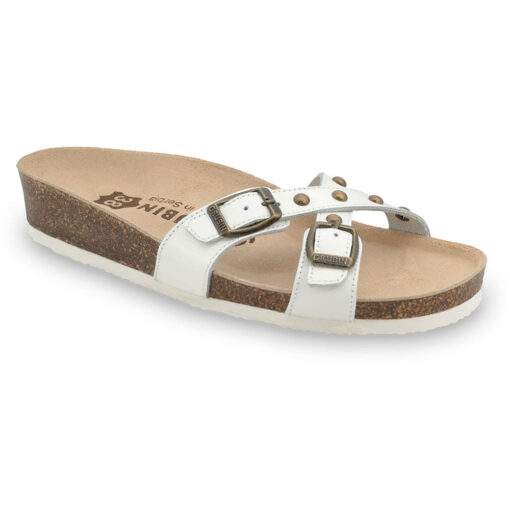 MODENA Women's slippers - leather (36-42)