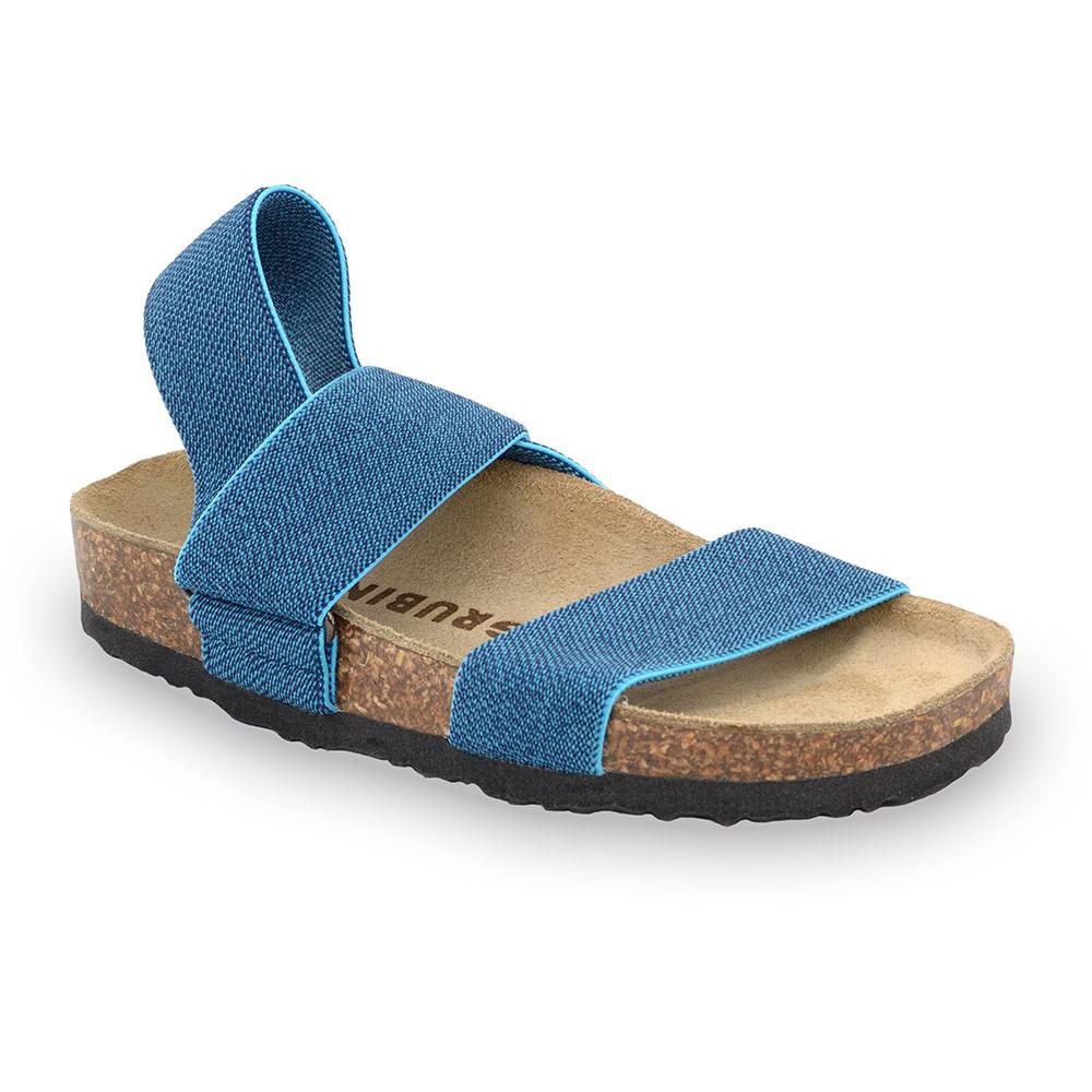 RAMONA Kids sandals - cloth (30-35) - blue, 35