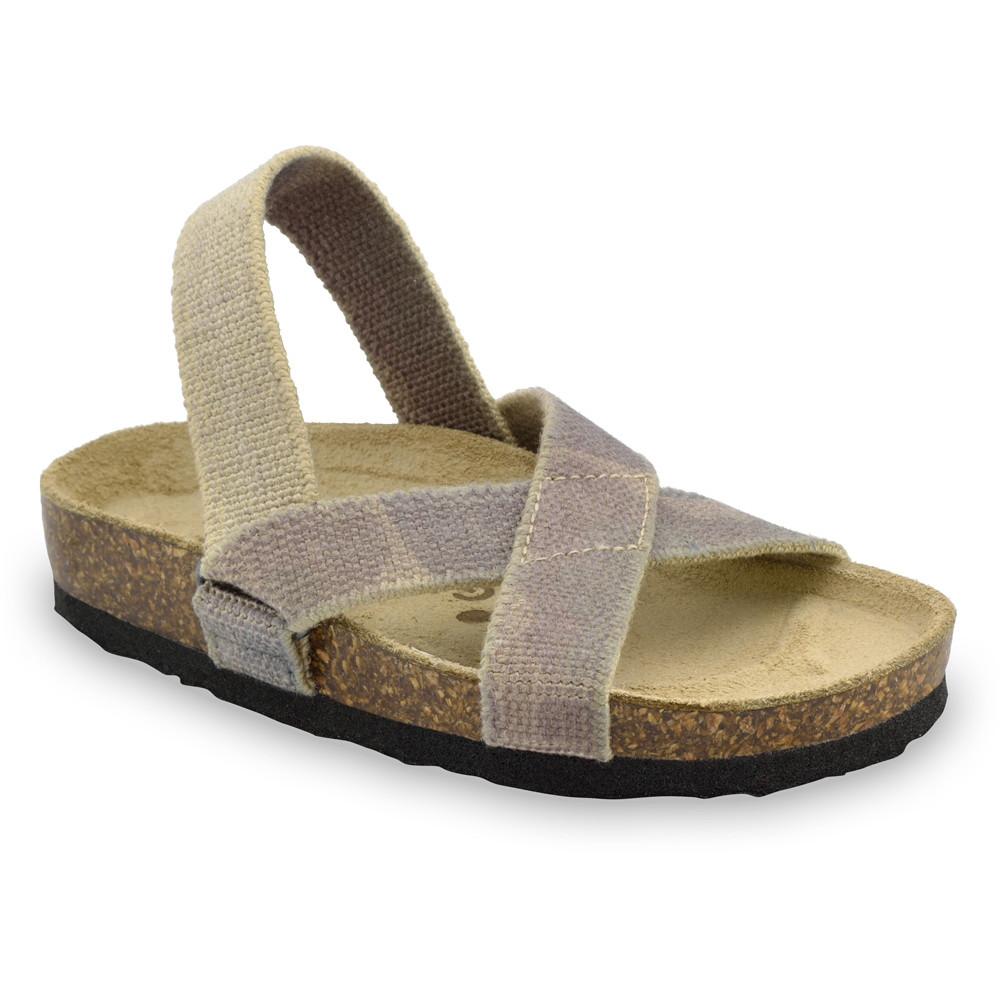 LUI Kids sandals - cloth (30-35) - military, 33