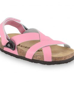 PITAGORA Kids sandals - nubuck caste leather (23-29)