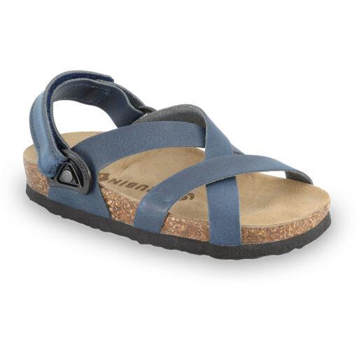 PITAGORA Kids sandals - nubuck caste leather (23-29)