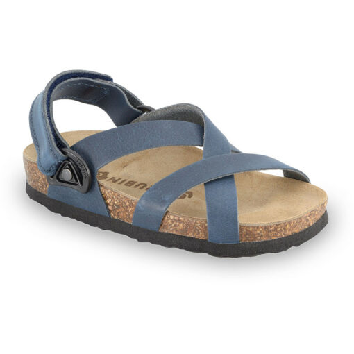 PITAGORA Kids sandals - nubuck caste leather (30-35)
