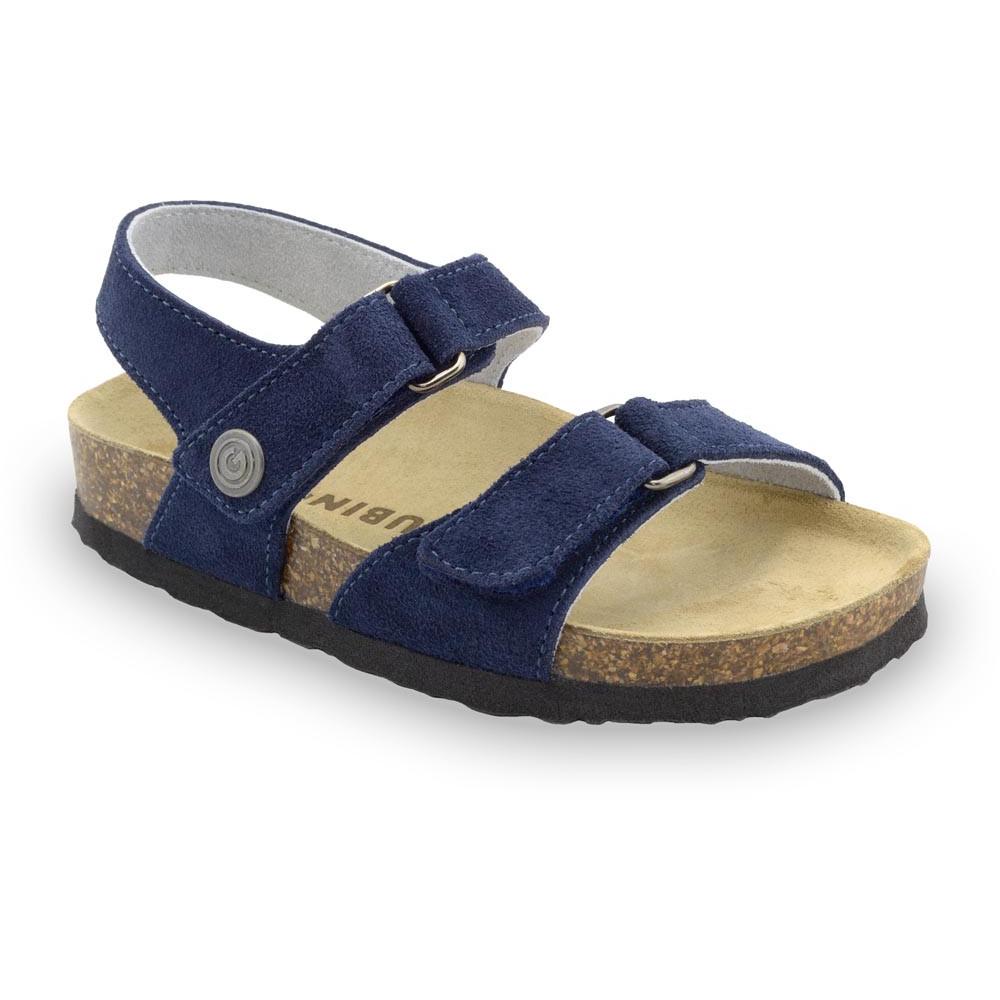 RAFAELO Kids sandals - suede leather (23-29)