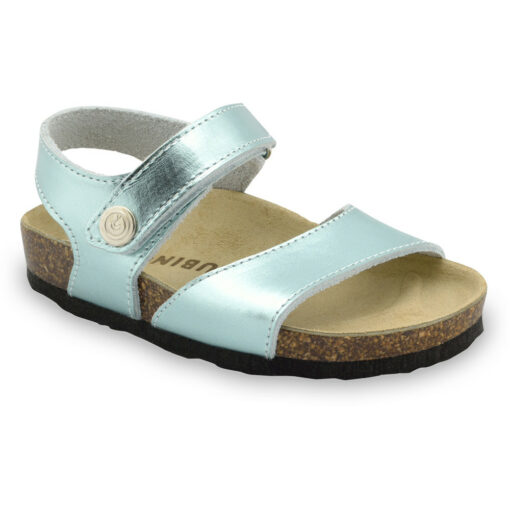 LEONARDO Kids sandals - leather (23-29)
