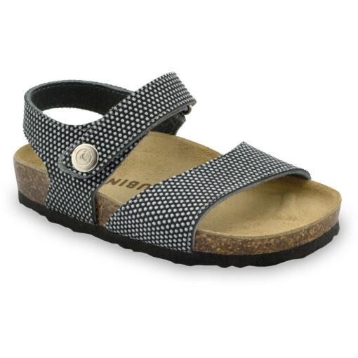 LEONARDO Kids sandals - caste leather (30-35)