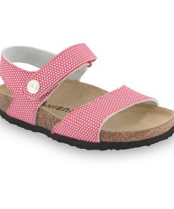 LEONARDO Kids sandals - caste leather (30-35)