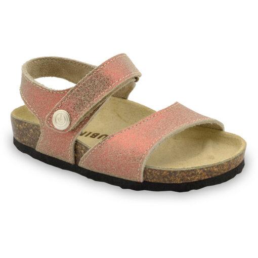 LEONARDO Kids sandals - leather (30-35)