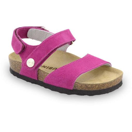 EJPRIL Kids sandals - nubuk leather (23-29)