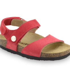 EJPRIL Kids sandals - nubuk leather (30-35)