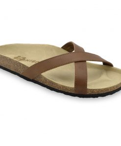NORRIS Men's slippers - leather (40-49)