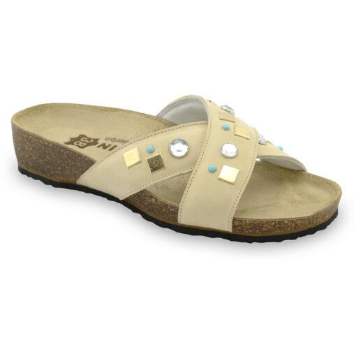 ELLE Women's slippers - leather (36-42)