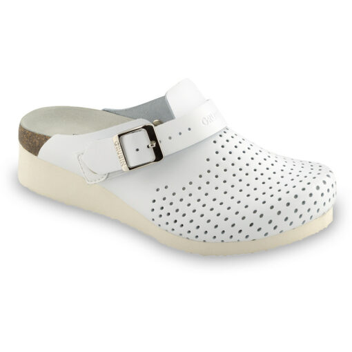 DUBAI Silverplus closed slippers - leather (36-42)