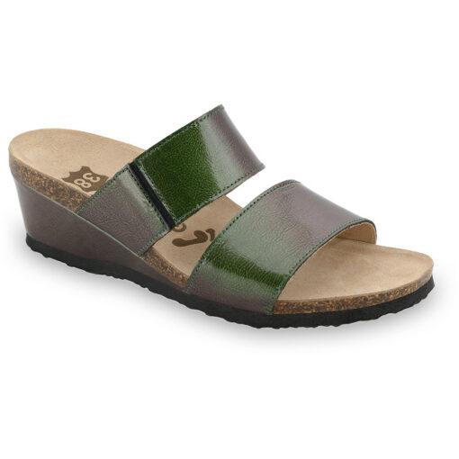 NATASHA Women's leather slippers (36-42)