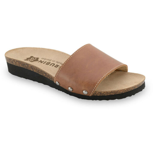 ALBINA Women's slippers - leather (36-42)