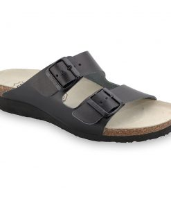 TULSA Silverplus slippers - leather (36-42)