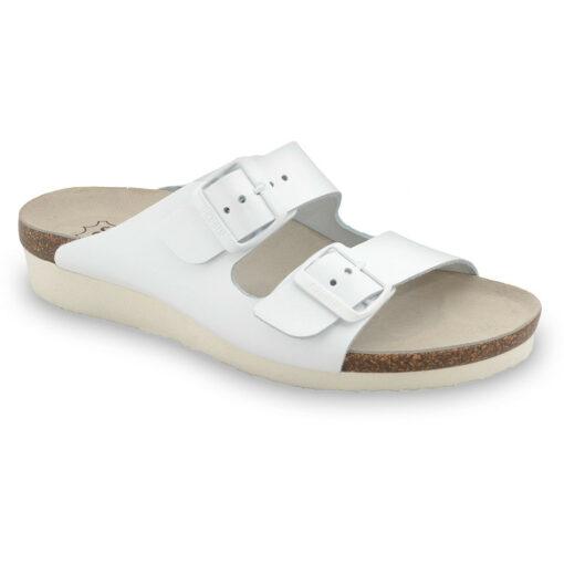 TULSA Silverplus slippers - leather (36-42)