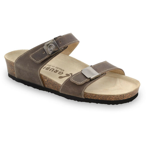 CARTAGENA Women's leather slippers (36-42)